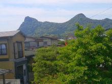 2階からの眺め 御船山